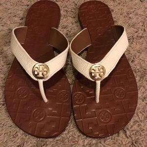 NWOT Ivory Tory Burch sandals
